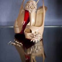 louboutins heels , wedding shoes