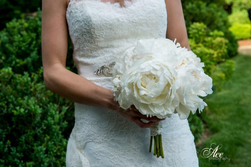 Peony brides bouquet
