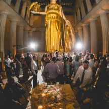 Dancing at the parthenon