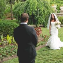 first look, nashville weddings, centennial park weddings