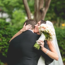 first kiss, nashville couple, nashville wedding planner