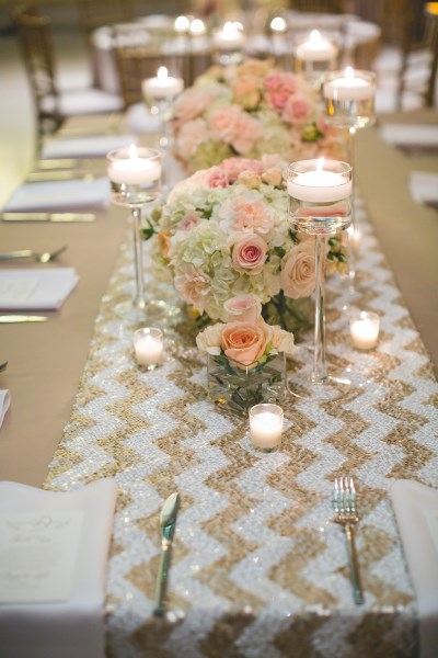 sequin linen, pink, white, flowers