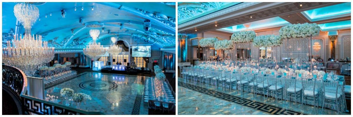 tiffany blue wedding, nashville wedding planner, NFL wedding