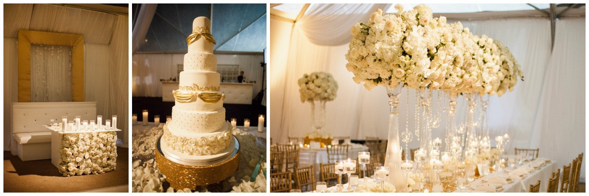 nfl wedding, white florals, white and gold wedding, nashville weddings