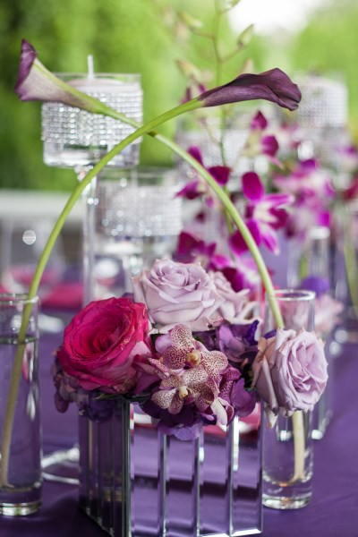 decor, centerpieces, orchids