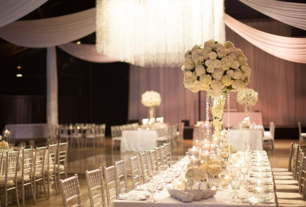 drape, chandelier, flowers
