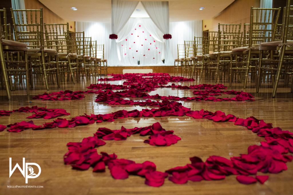 mount juliet wedding planner, aisle runner