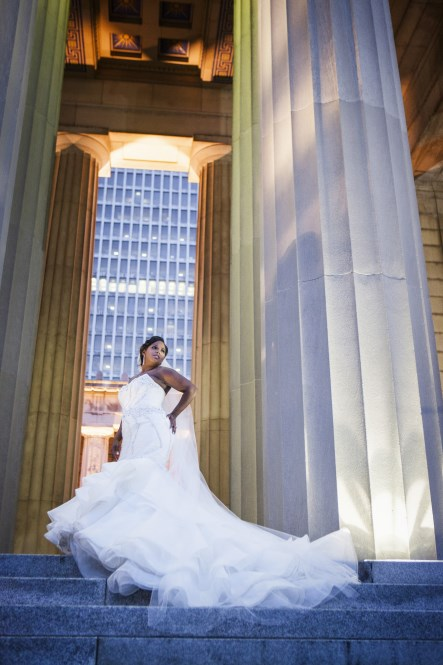 nashville bride, beautiful dress