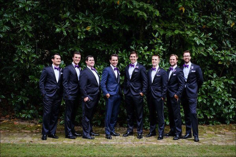 custom wedding suits, groomsmen, groom