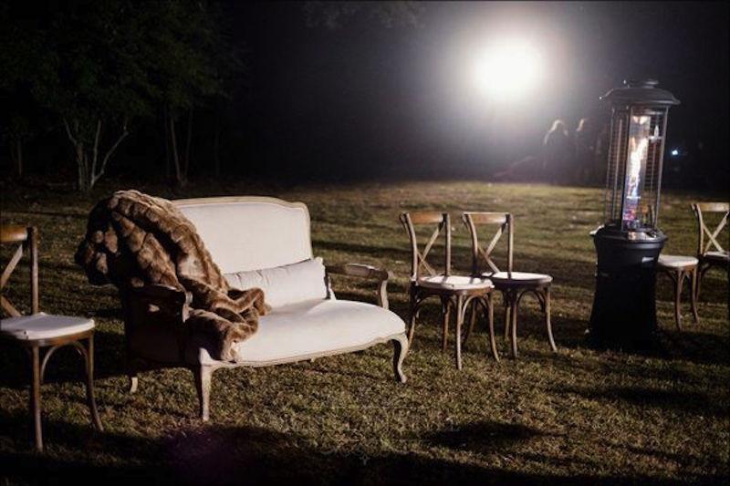 mount juliet wedding planner, fur blanket, couches