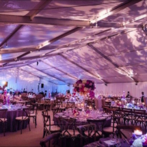 tent wedding, ceiling lighting