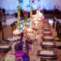 king table, bridal party table , elliott events