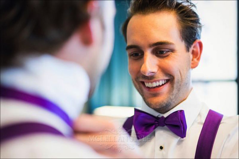 groom, bowtie, suspenders, custom