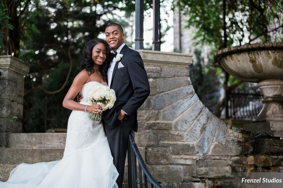bride, groom, outside, portraits, tennessee weddings
