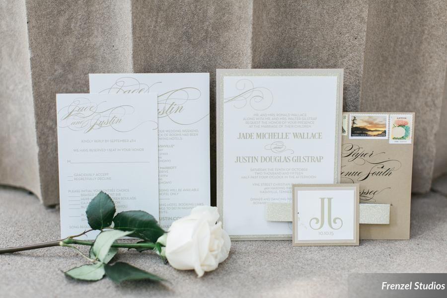 rose, menu, invitation