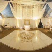 parthenon tent wedding
