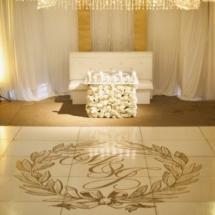 sweetheart table, luxury weddings, custom design