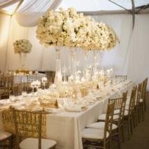 luxury florals, elliott events , custom wedding decor