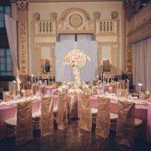 reception, large centerpiece, memphis