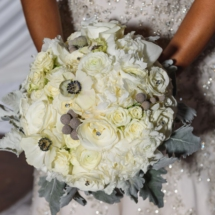 winter bouquet, nashville wedding