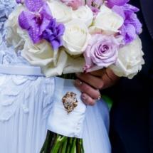 white, purple, orchid, memphis wedding