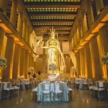 museum wedding, nashville, reception
