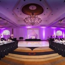 nfl wedding planner, reception, dance floor