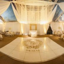 nfl wedding, nashville, gold