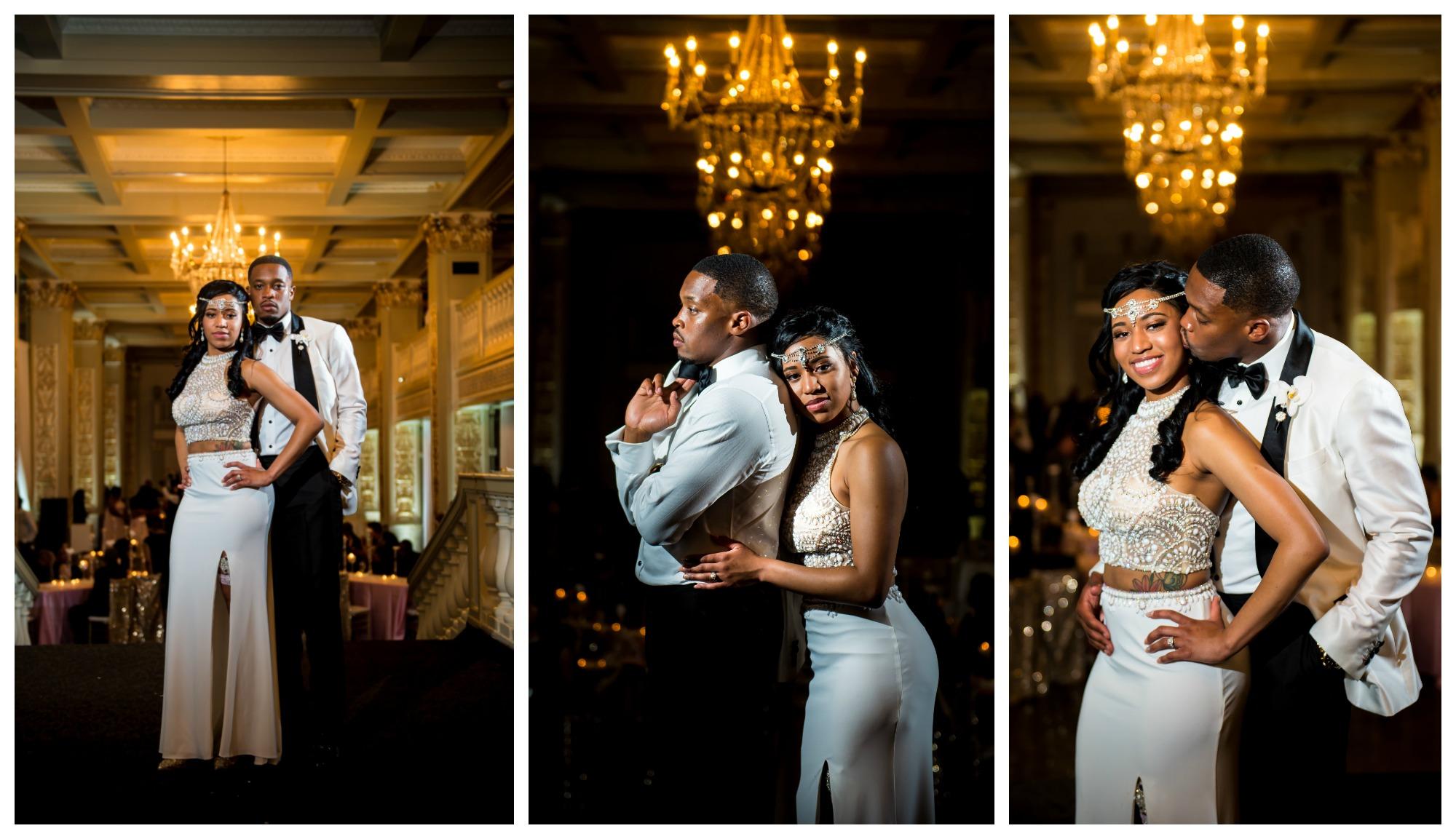 Memphis Wedding, Bride and Groom