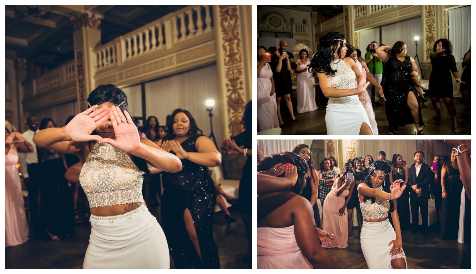 Wedding, Dancing, Sorority