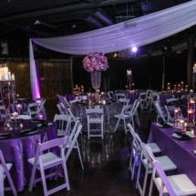purple wedding, nashville wedding planner