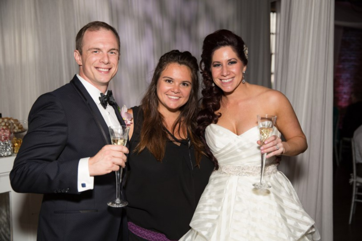 bride and groom, wedding planner