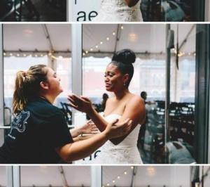 Bride Reaction, Wedding Planner