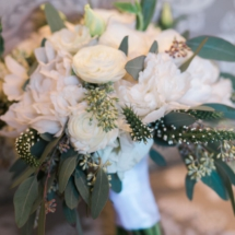 brides bouquet, nashville wedding, greenery