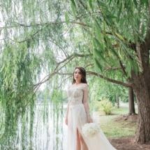 bride, centennial park, nashville