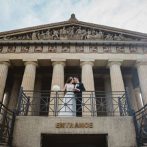 parthenon, museum, bride and groom