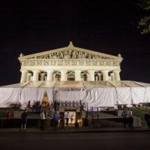 tent wedding, nfl wedding, parthenon, nashville