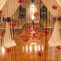 ceremony, roses, aisle petal design, nashville wedding planner