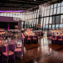 nashville venue, downtown view, decor