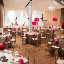 red reception, nashville wedding, music school
