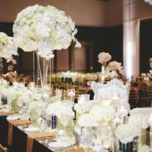 gold, black, floral design,