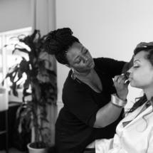 make up, artist, bride