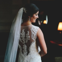 bride, lace, wedding gown