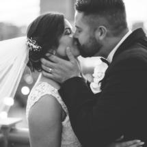 bride, groom, kiss, nashville