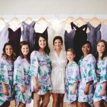 bridal party, bride, bridesmaids