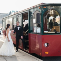 Trolley, Bride and Groom, Nashville