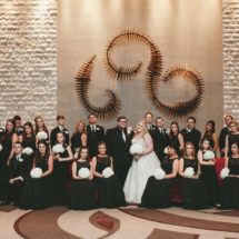 Bridal Party, Black Bridesmaids Dresses