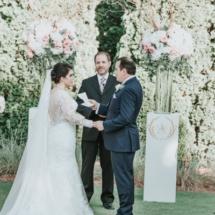 i do, ceremony, bride and groom, golf course