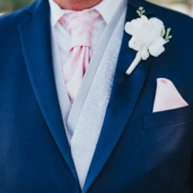 boutonniere, white, groom