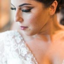 bride, close up, lace, makeup, updo